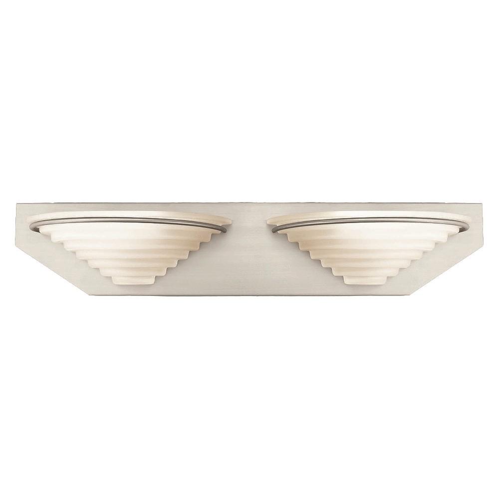 Lite Source Vanity Wall Light - Silver