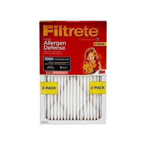 Filtrete Micro Allergen 14x25x1, Air Filter, 2/Pack - image 1 of 3