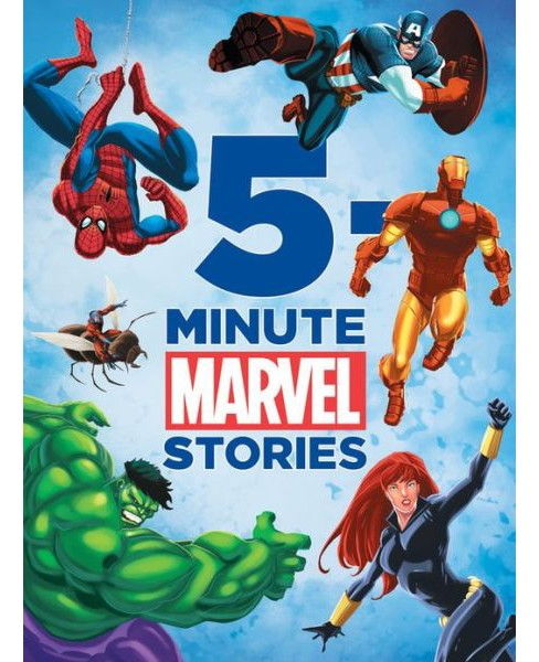 5-Minute Marvel Stories (Hardcover) by Marlvel Press - image 1 of 1