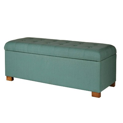 Classic Large Tufted Storage Bench - HomePop