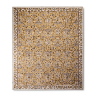 Yellow Ombre Design Tufted Area Rug 10'x12' - Threshold™
