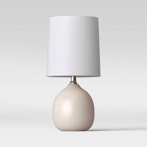 Textured Ceramic Mini Accent Lamp - Threshold™ - image 1 of 4