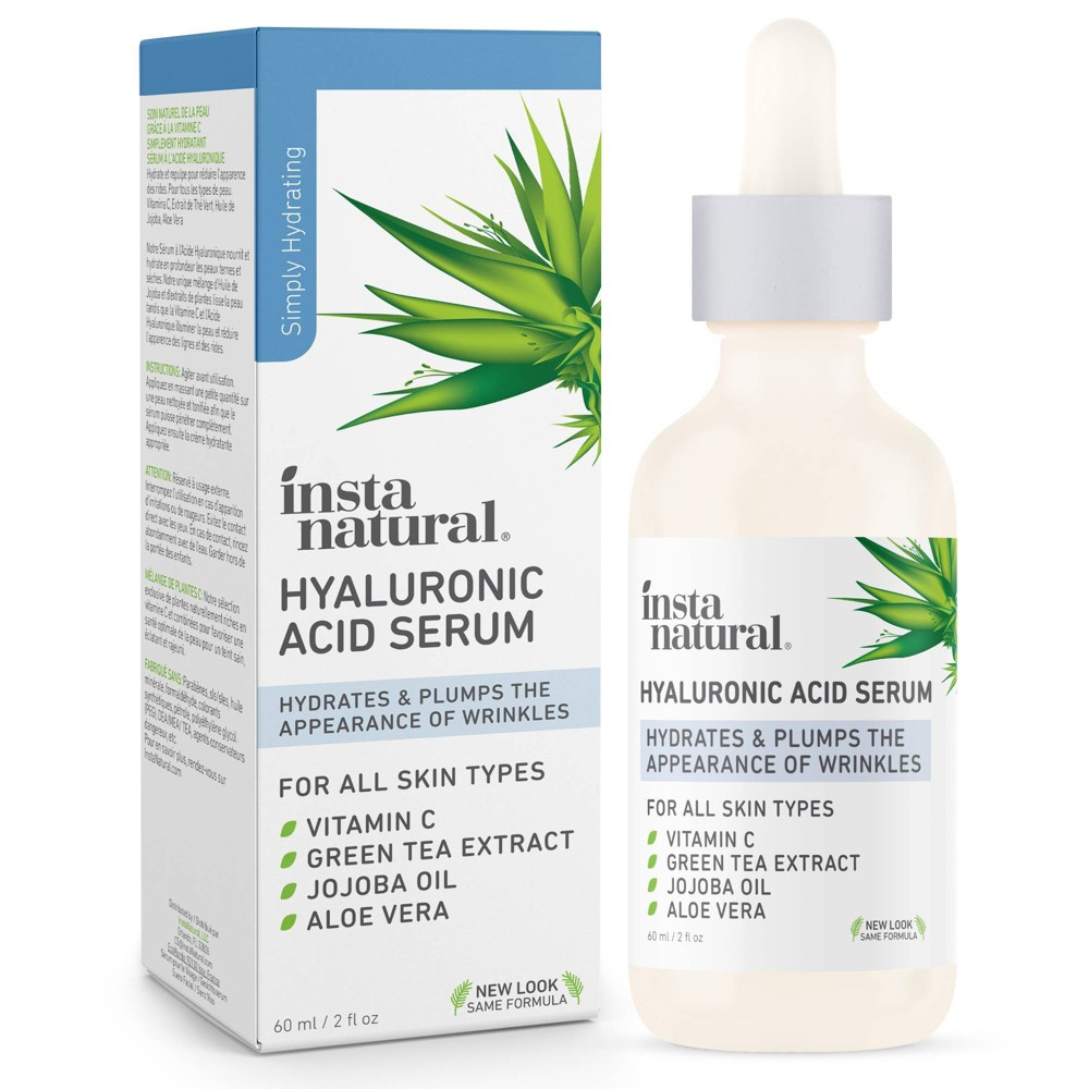 Instanatural Hyaluronic Acid Facial Serum 2 Fl Oz