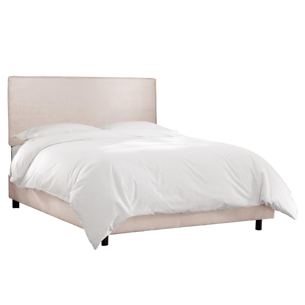 Austin Bed Mystere Dove King - Skyline Furniture