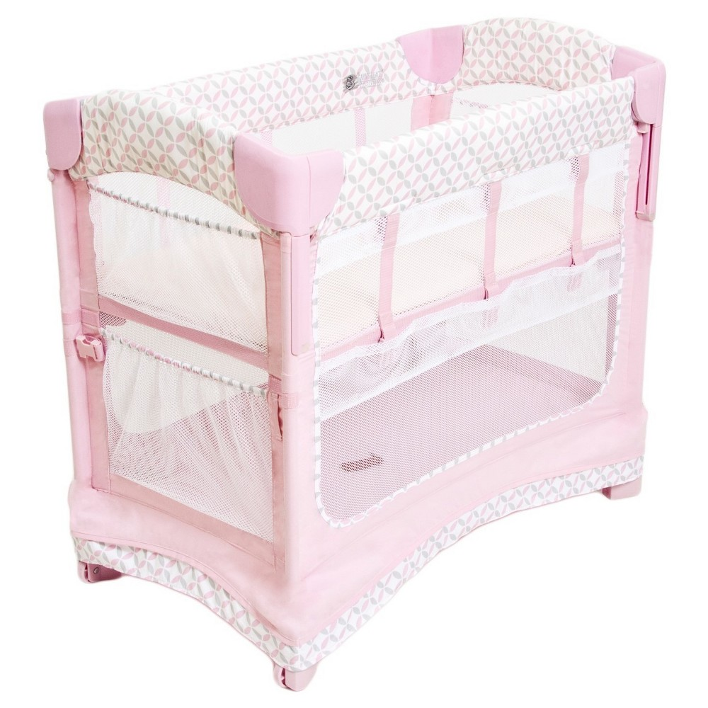 Image of Arm's Reach Co-Sleeper Bedside Sleeper - Coterie, Pink