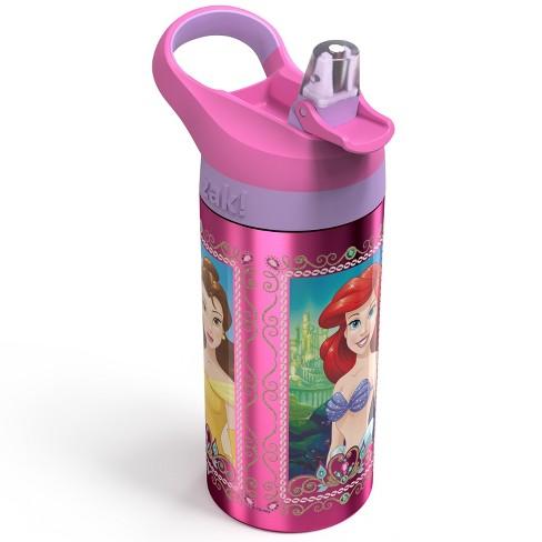 Disney Princess 19.5oz Stainless Steel Water Bottle Pink/Purple - Zak Designs - image 1 of 3