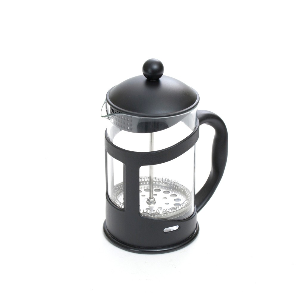 Image of Mind Reader 27oz Glass French Press - Black