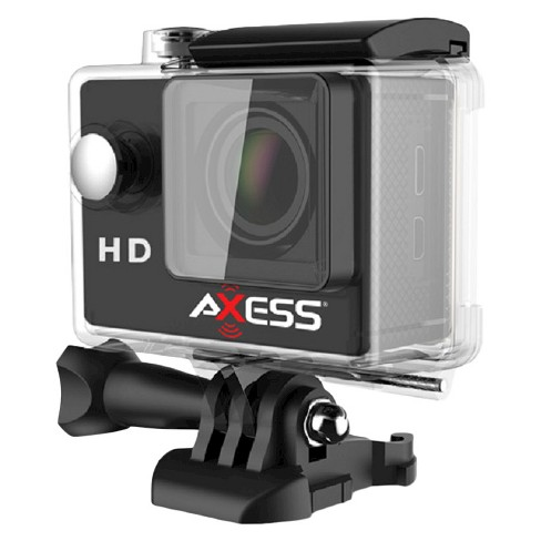 "Axess Action Camera 720p, 2""LCD with 140 lens - Gray (CS3603BK) - image 1 of 1"