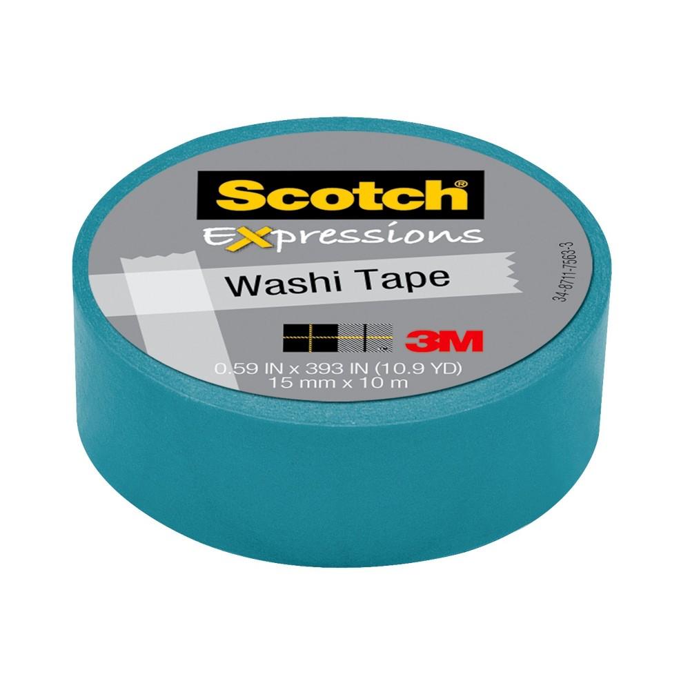 Scotch Washi Tape Pink Pattern 10Mx15Mm