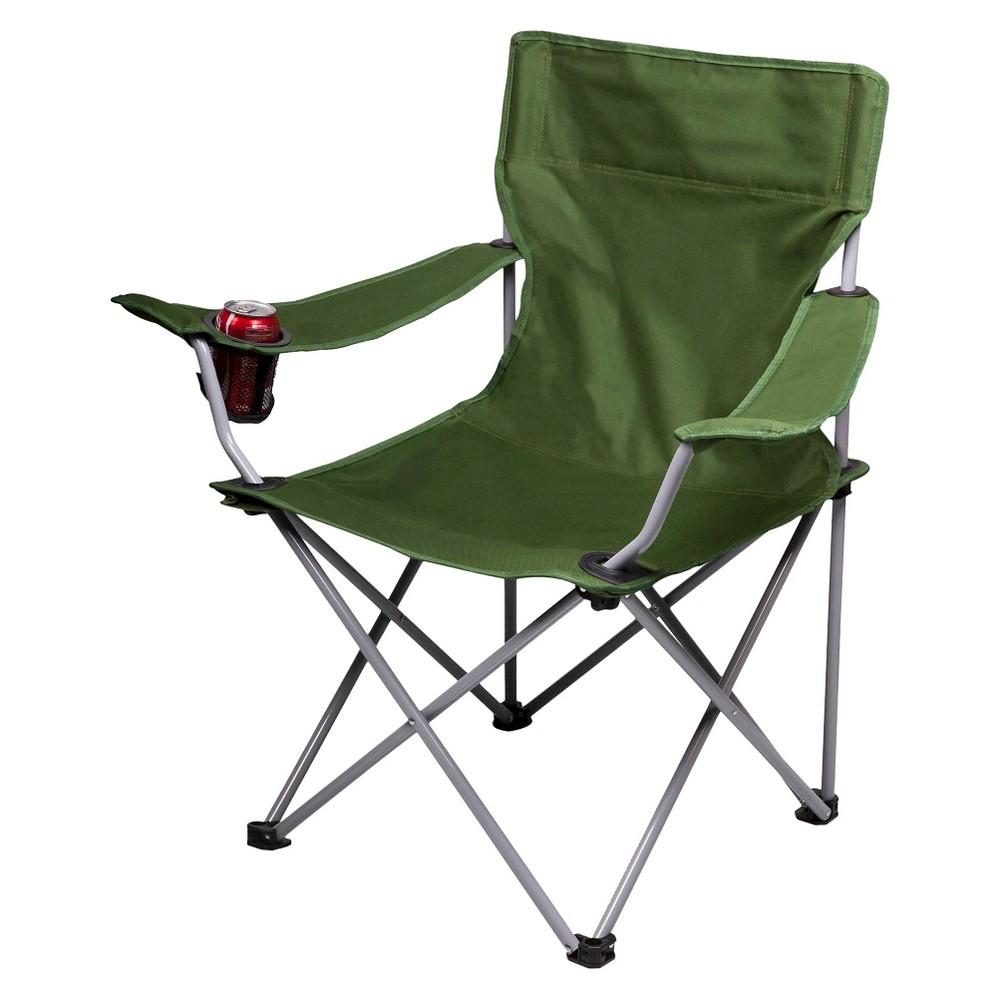 Picnic Time Camp Chair - Khaki Green