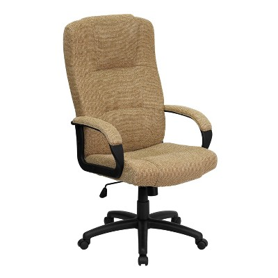 Flash Furniture High Back Fabric Executive Swivel Office Chair with Arms