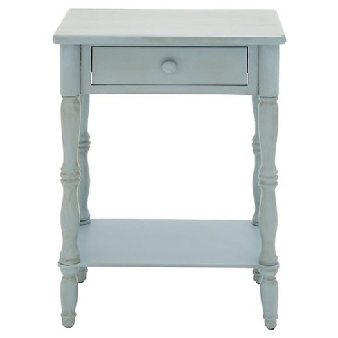 End Table Bleach White - Benzara - image 1 of 1