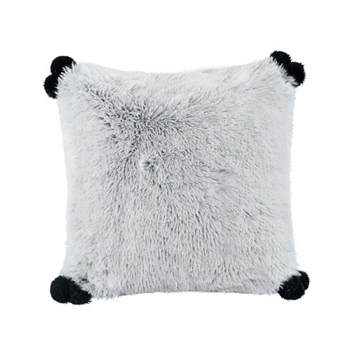 20''x20'' Maddie Shaggy Faux Fur Pillow - image 1 of 4