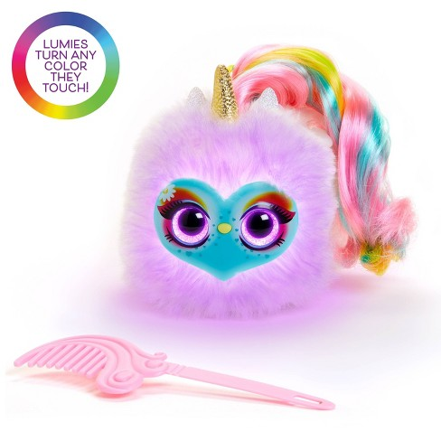 Pomsies Lumies - Rainbow Charged Interactive Pet - Sparkle Rush - image 1 of 4