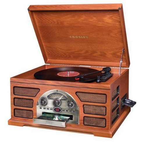 Crosley Rochester 5 in 1 Entertainment Center - Paprika (CR66D-PA)