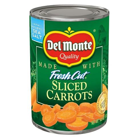 Del Monte Fresh Cut Sliced Carrots - 14.5 oz - image 1 of 1