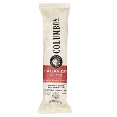 Columbus Italian Dry Salame Deli Meats - 8oz