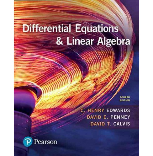 Differential Equations & Linear Algebra (Hardcover) (C. Henry Edwards & David E. Penney & David T. - image 1 of 1