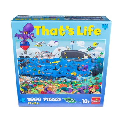 Goliath That's Life - The Great Barrier Reef Puzzle 1000pc
