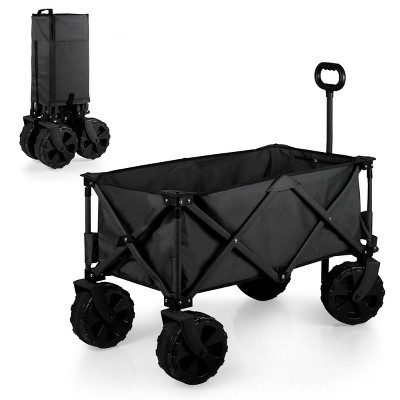 Picnic Time Adventure Wagon All Terrain Edition - Black