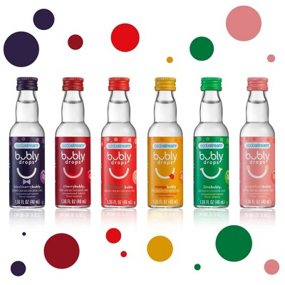 SodaStream 6ct bubly Drops - Variety Pack