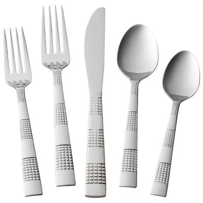 Circa Silverware Set 20-pc. Stainless Steel - Room Essentials™