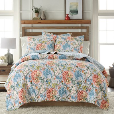Angelica Spring Quilt and Pillow Sham Set - Levtex Home