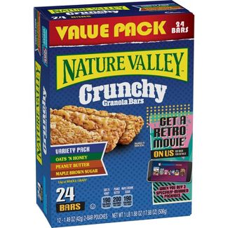 Nature Valley Crunchy Variety Pack Granola Bars - 12ct