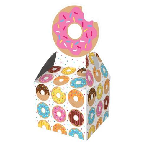 Terrific 8Ct Donut Time Favor Boxes Inzonedesignstudio Interior Chair Design Inzonedesignstudiocom