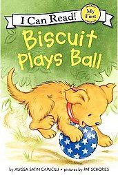 Biscuit Plays Ball ( Biscuit My First I Can Read)(Paperback)by Alyssa Satin Capucilli
