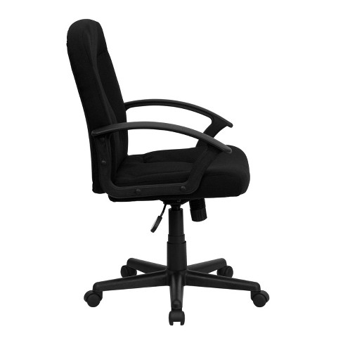 Superb Executive Swivel Office Chair Black Flash Furniture Interior Design Ideas Clesiryabchikinfo