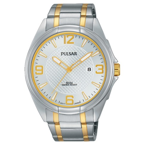 Men's Pulsar Basic Dress Collection - Two Tone with Silver Dial - PH9097 - image 1 of 1