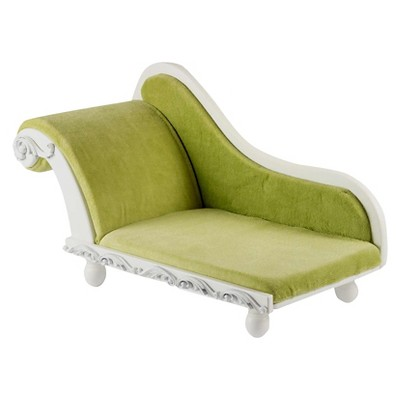 The Queenu0027s Treasures® 18 Inch Doll Furniture, White Wooden French Style  Wooden Fainting, Sofa Couch