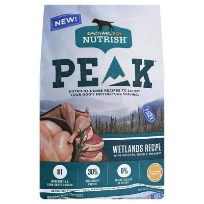 Rachael Ray Nutrish Peak Grain Free Wetlands Recipe with Chicken, Duck & Pheasant Dry Dog Food