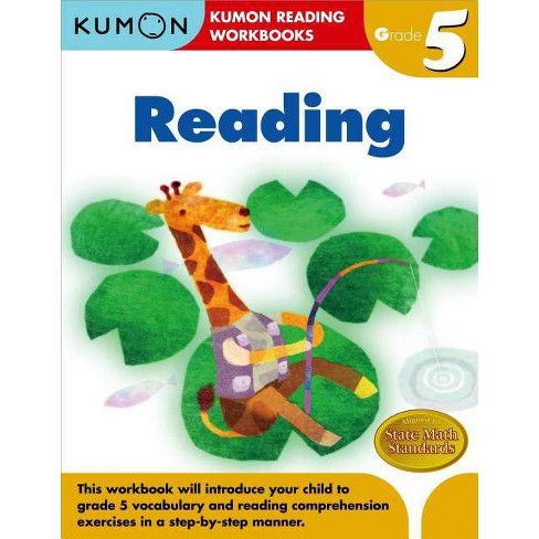 Grade 5 Reading - (Kumon Reading Workbooks) by  Eno Sarris (Paperback) - image 1 of 1
