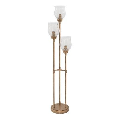 Emmie Floor Lamp Antique Gold - Signature Design by Ashley
