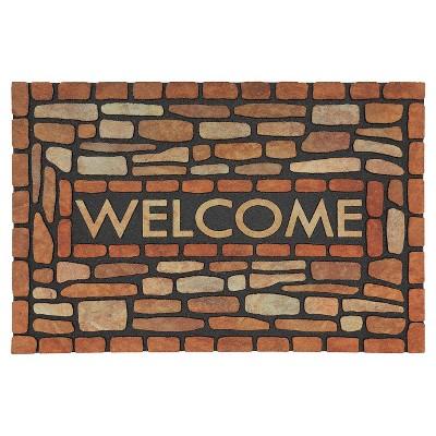 Mohawk Stone Brook Doormat - Brown (1'11 x2'10 )