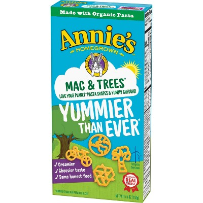 Mac & Cheese: Annie's Mac & Trees