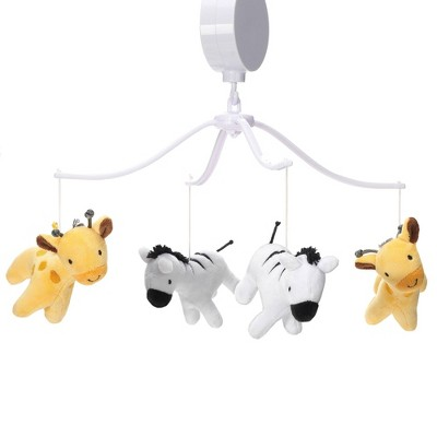 Lambs & Ivy Mighty Jungle Musical Baby Crib Mobile