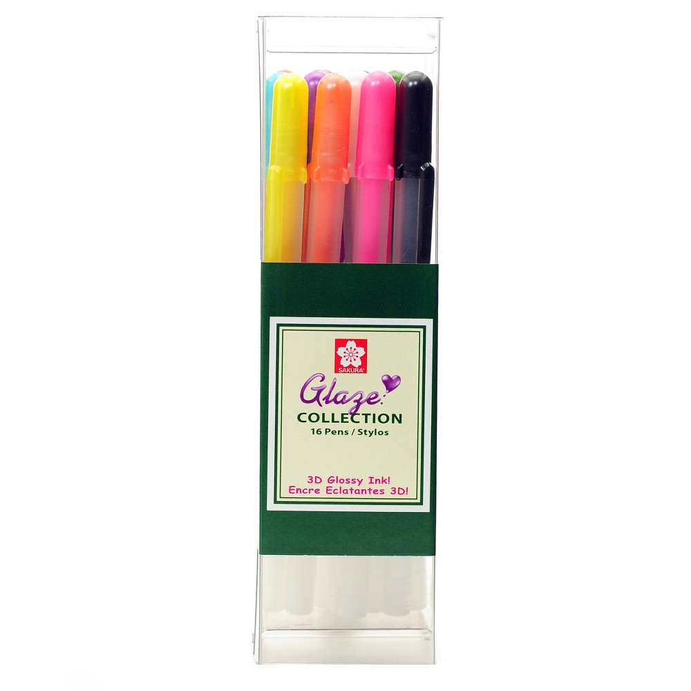 Image of 3D Gel Pen Set Multicolor - Gelly Roll Glaze 16ct