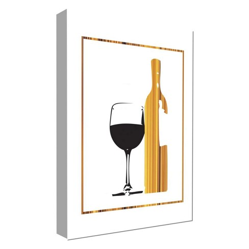 "Have A Little Wine I Decorative Canvas Wall Art 11""x14"" - PTM Images - image 1 of 1"