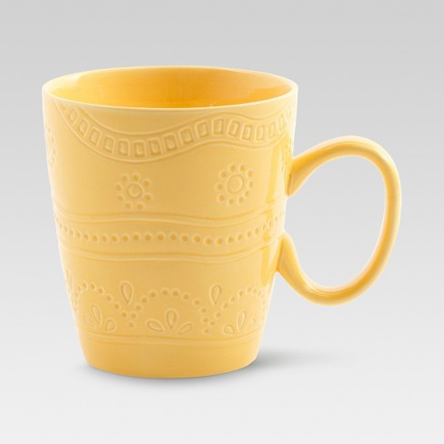 Kennet Ceramic Mug, Yellow 16oz - Threshold™ - image 1 of 1