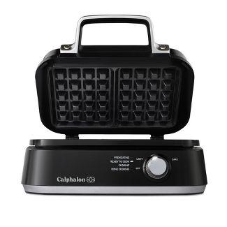 Calphalon Precision Control Waffle Make - Matte Black