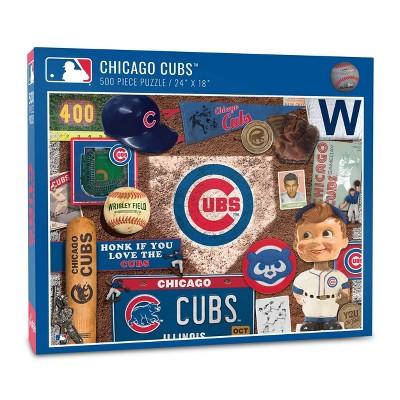 MLB Chicago Cubs 500pc Retro Series Puzzle