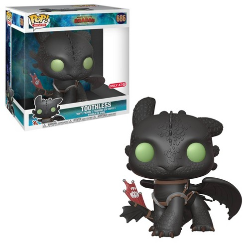 """Funko POP! Movies: How To Train Your Dragon 3 - 10"""" Toothless (Target Exclusive) - image 1 of 3"""