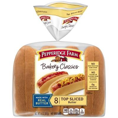 Pepperidge Farm Butter Hot Dog Buns - 14oz/8ct