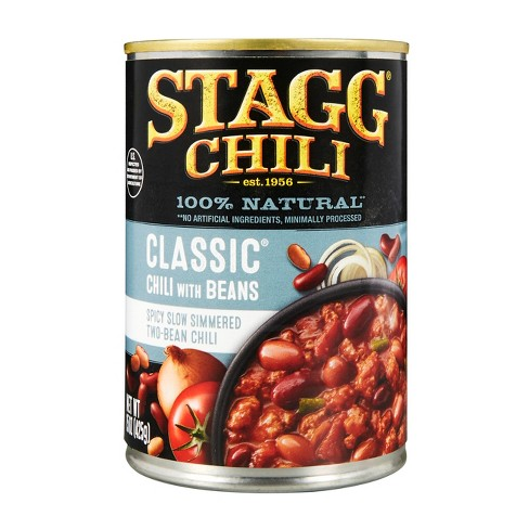 Stagg Chili Gluten Free Classic Chili with Beans - 15oz - image 1 of 4