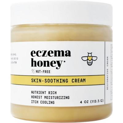 Eczema Honey Nut Free Soothing Cream - 4oz