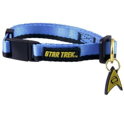 Star Trek Uniform Pet Collar | Blue
