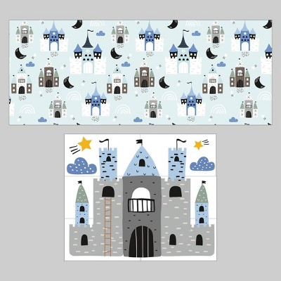 2ct Wall Decals Castle - Bullseye's Playground™